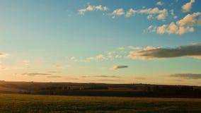 Bello tramonto, timelapse stock footage