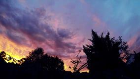 Bello tramonto TimeLapse 4K delle nuvole archivi video