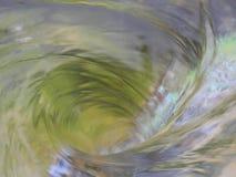 Bello turbinio dell'acqua come un modo allo sconosciuto Fotografia Stock Libera da Diritti