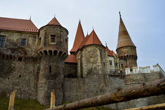 Bello vecchio castello Fotografia Stock