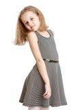 Bello vestito dalla ragazza fotografie stock libere da diritti