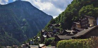 Bello villaggio di Hallstatt in Austria Immagine Stock Libera da Diritti