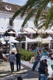 Bello villaggio di Mijas sulla Costa del Sol Spagna Fotografie Stock Libere da Diritti