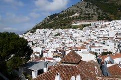 Bello villaggio di Mijas sulla Costa del Sol Spagna Fotografia Stock