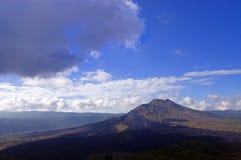 Bello vulcano Kintamani Fotografie Stock Libere da Diritti