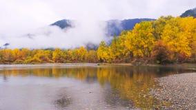 Bello Washington Autumn Nature Scenery - parco di lungomare, Leavenworth fotografia stock