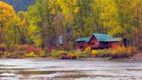 Bello Washington Autumn Nature Scenery - parco di lungomare, Leavenworth fotografie stock