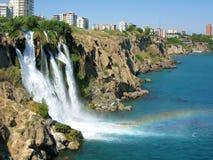Bello waterfall.2 Immagine Stock Libera da Diritti