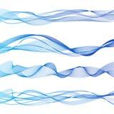 Bello Wave astratto Immagine Stock