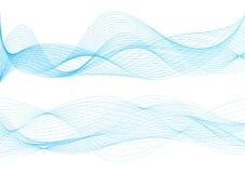 Bello Wave astratto Fotografia Stock