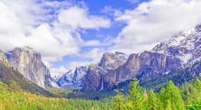 Bello Yosemite Fotografie Stock Libere da Diritti