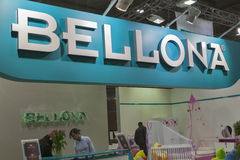 Bellona Turkish furniture company booth Royalty Free Stock Images