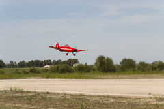 Bellota jet 2013 piper pawnee large model landing Stock Images