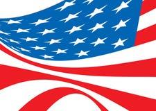 bellow flag мы Стоковая Фотография RF