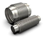 Bellow flex joints royalty free stock photo