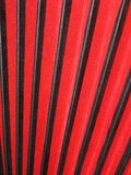 Bellows of accordion, red and black Royalty Free Stock Photos
