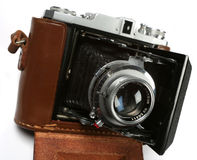 Bellows camera Royalty Free Stock Image