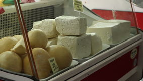 Bellows Cheese for Sale stock video