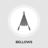 Bellows Vector Flat Icon Royalty Free Stock Photos