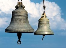 Bells royalty free stock photos