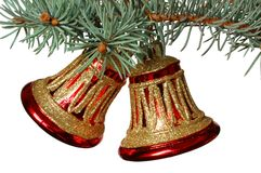 Bells. Christmas decoration royalty free stock photography