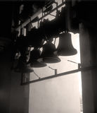 Bells. Bells in the bell tower of the St. Michael cathedral. Kyiv, Ukraine Royalty Free Stock Image