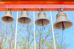 Bells against blue sky Stock Images