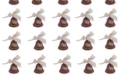 Bells arranged in row Stock Photography