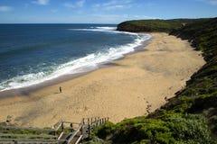Bells beach in Australia Stock Image