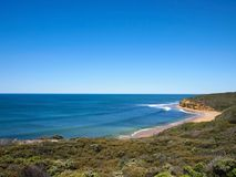 Bells beach. Located at Great ocean road , Melbourne , Australia Stock Images