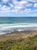 Bells Beach in Victoria Australia Royalty Free Stock Photography