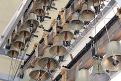 Bells of the belfry of Sophia of Kiev royalty free stock images
