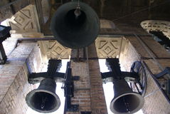 Bells of The Bell tower of Seville Cathedral, Spain, Europe Royalty Free Stock Photos