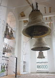 Bells on a belltower, an orthodox temple Stock Images
