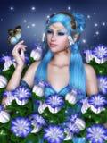 Bells bleues Images libres de droits