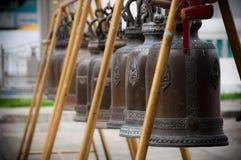 Bells bouddhistes Photo libre de droits