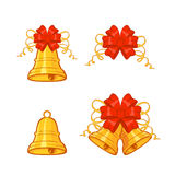 Bells with bow Stock Photos