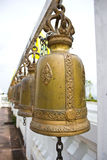 Bells in a buddhist temple Royalty Free Stock Photos