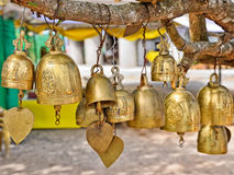 Bells of Buddhist temple Royalty Free Stock Photography