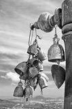Bells of Buddhist temple Stock Photography