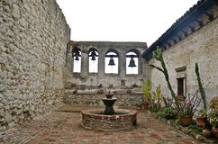 The Bells of Capistrano Stock Image