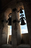 Bells of the Cathedral of Caceres, Extremadura, Spain Royalty Free Stock Image