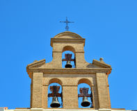 Bells of catholic church Royalty Free Stock Photos