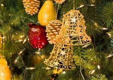 bells christmas pair Στοκ Εικόνες