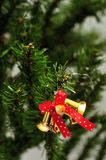 Bells Christmas tree decoration Royalty Free Stock Images