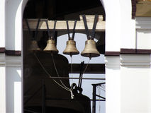 Bells in a church Royalty Free Stock Images