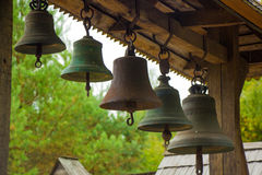 The bells of the Church of St. Archangel Michael Royalty Free Stock Image