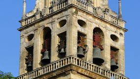 Bells of Cordoba Cathedral Stock Photos