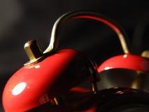 Bells d'une ancienne horloge d'alarme d'horloge Images libres de droits
