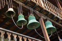 Bells dans le monastère Image libre de droits